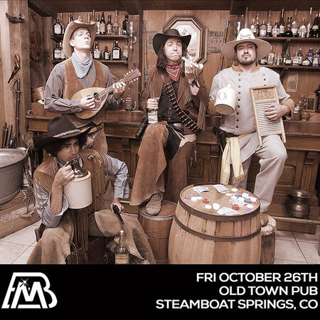 10/26/18 Old Town Pub, Steamboat Springs, CO