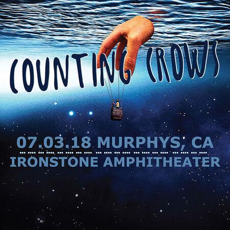 07/03/18 Ironstone Amphitheater, Murphys, CA