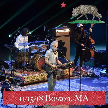 11/15/18 Boch Center Wang Theatre, Boston, MA
