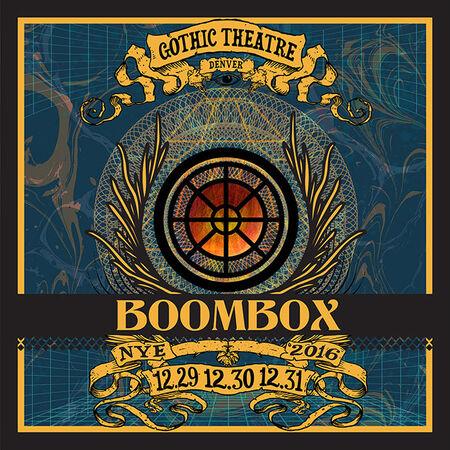 12/31/16 Gothic Theatre, Denver, CO