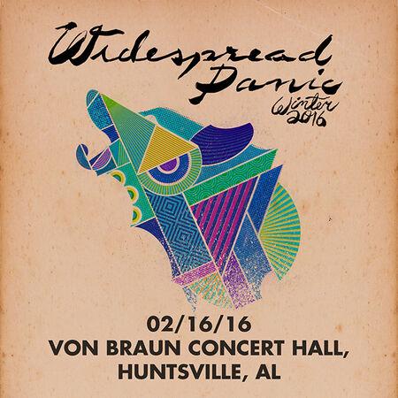 02/16/16 Von Braun Concert Hall, Huntsville, AL