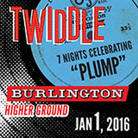 01/01/16 Higher Ground, Burlington, VT