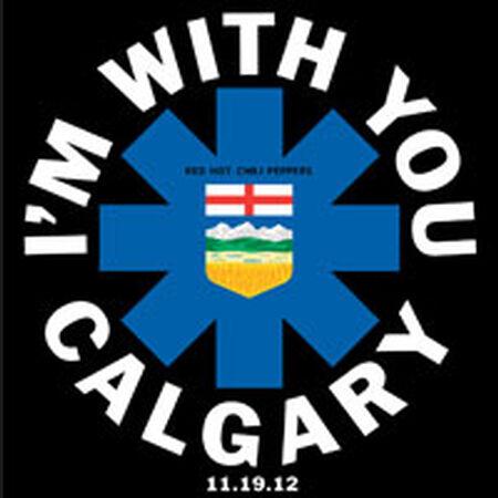 11/19/12 Scotiabank Saddledome, Calgary, AB