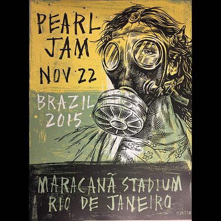 11/22/15 Estadio Maracana, Rio De Janeiro, BR
