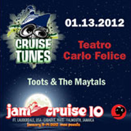 01/13/12 Teatro Carlo Felice, Jam Cruise, US