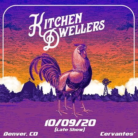 10/09/20 Cervantes' Masterpiece Ballroom - Late Show, Denver, CO