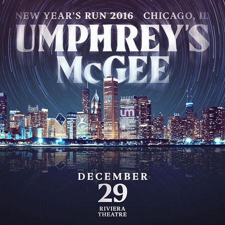 12/29/16 Riviera Theatre, Chicago, IL