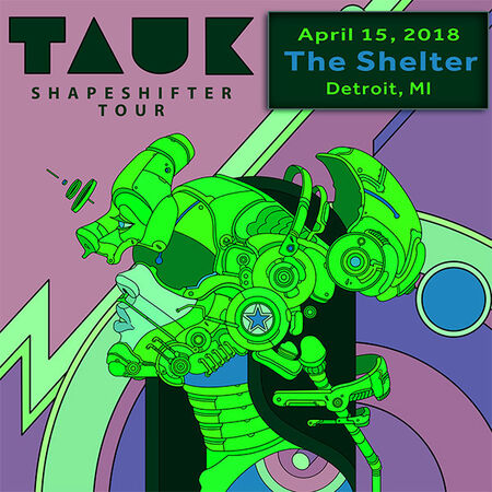 04/15/18 The Shelter, Detroit, MI