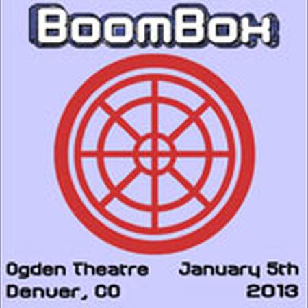 01/05/13 Ogden Theatre, Denver, CO