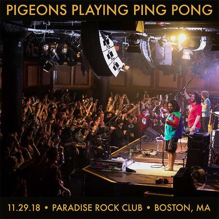 11/29/18 Paradise Rock Club, Boston, MA