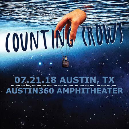 07/21/18 Austin360 Amphitheater, Austin, TX