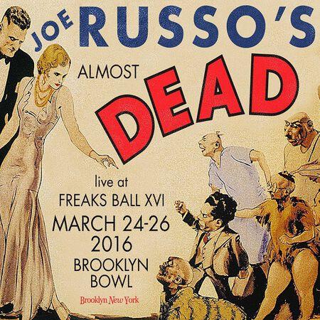 03/25/16 Brooklyn Bowl, Brooklyn, NY