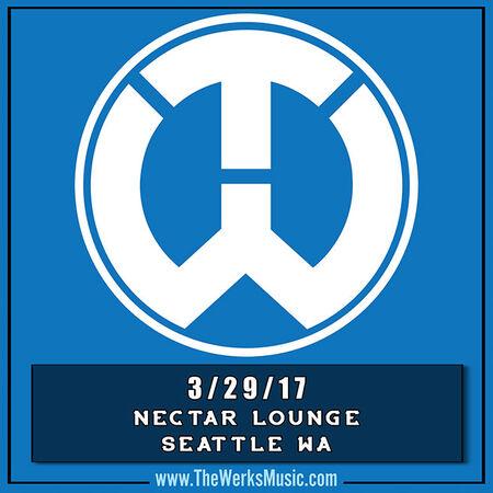 03/29/17 Nectar Lounge, Seattle, WA