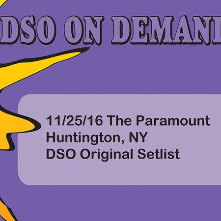 11/25/16 The Paramount, Huntington, NY