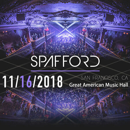 11/16/18 Great American Music Hall, San Francisco, CA
