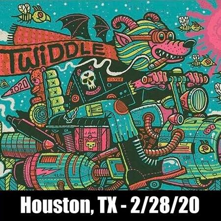 02/28/20 Last Concert Cafe, Houston, TX