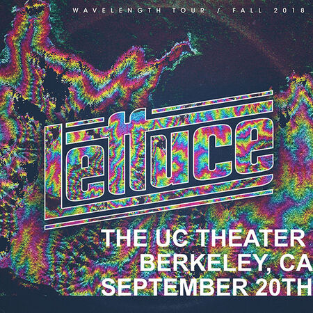 09/20/18 UC Theater, Berkeley, CA