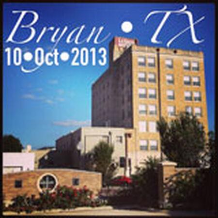 10/10/13 Grand Stafford Theatre, Bryan, TX