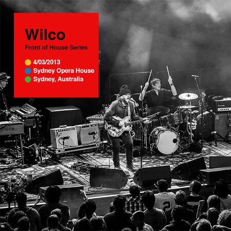 04/03/13 Sydney Opera House, Sydney, AUS