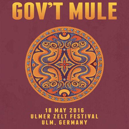 05/18/16 Ulmer Zelt Festival, Ulm, DE