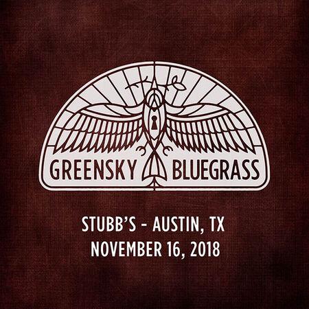 11/16/18 Stubb's, Austin, TX