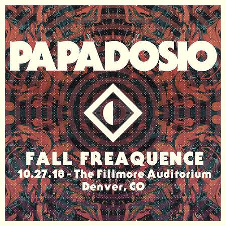 10/27/18 The Fillmore, Denver, CO