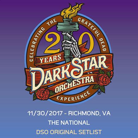 11/30/17 The National, Richmond, VA
