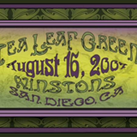 08/16/07 Winston's, San Diego, CA