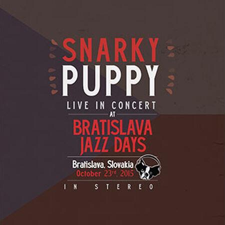 10/23/15 Jazz Days Festival, Bratislava, SK