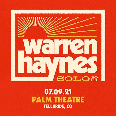 07/09/21 Palm Theatre, Ride Festival, Telluride, CO