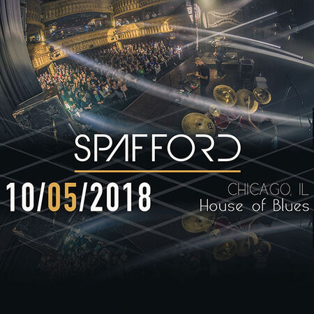 10/05/18 House Of Blues, Chicago, IL