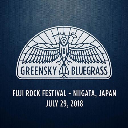 07/29/18 Fuji Rock Festival, Niigata, JP