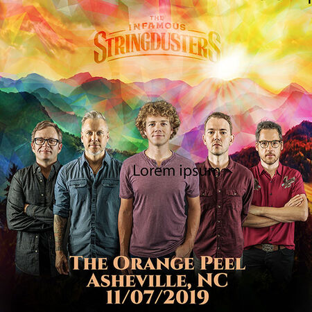 11/07/19 The Orange Peel, Asheville, NC