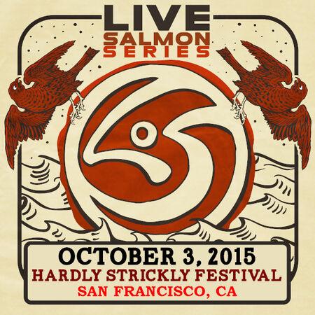 10/03/15 Hardly Strictly Bluegrass Festival, San Francisco, CA