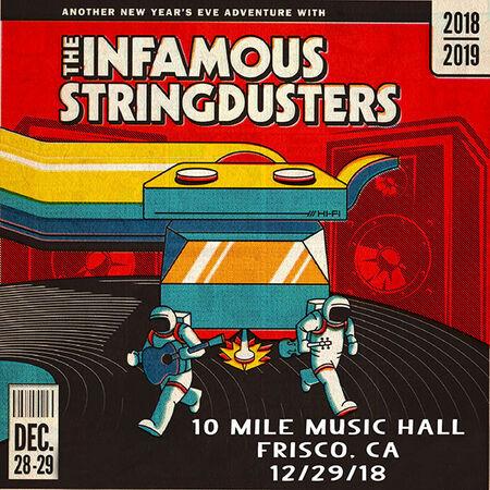 12/29/18 10 Mile Music Hall, Frisco, CO