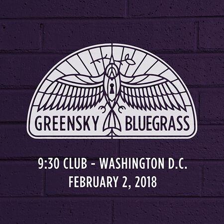 02/02/18 9:30 Club, Washington, DC