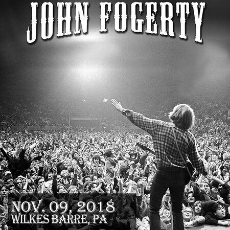 11/09/18 Mohegan Sun Arena, Wilkes Barre, PA