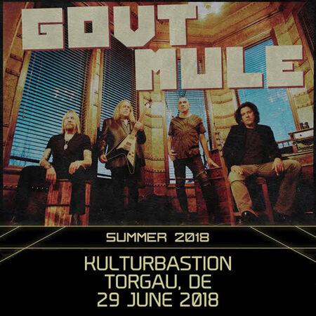 06/29/18 Kulturbastion, Torgau, DE