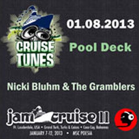 01/08/13 Pool Deck, Jam Cruise, US