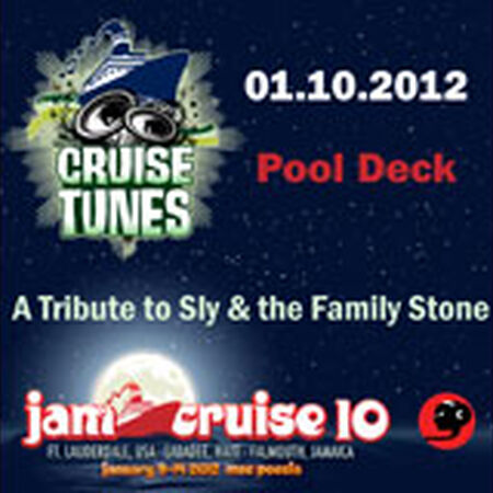 01/10/12 Pool Deck, Jam Cruise, US