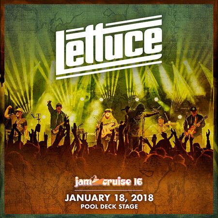 01/18/18 Pool Deck, Jam Cruise, US