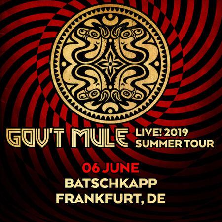 06/06/19 Batschkapp, Frankfurt, DE