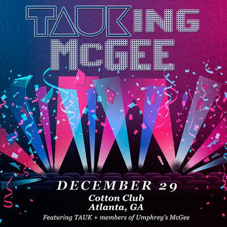 12/29/18 Cotton Club, Atlanta, GA