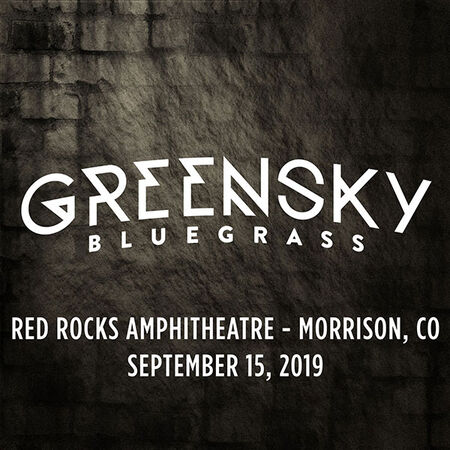09/15/19 Red Rocks Amphitheatre, Morrison, CO