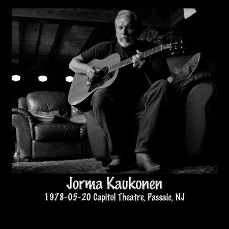 05/20/78 Capitol Theatre, Passaic, NJ