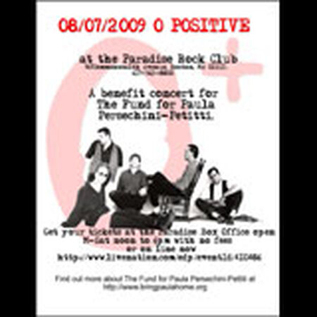 08/07/09 Paradise Rock Club, Boston, MA