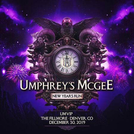 12/30/19 umVIP at The Fillmore, Denver, CO