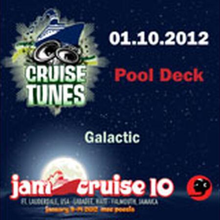 01/10/12 Pool Deck, Jam Cruise, US