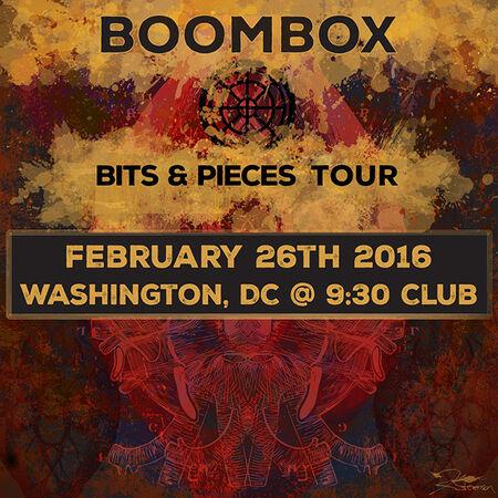 02/26/16 9:30 Club, Washington, DC