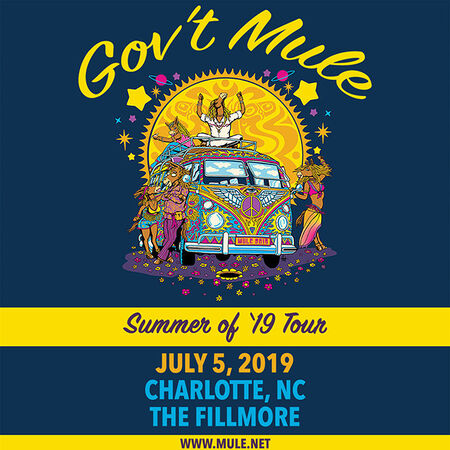07/05/19 The Fillmore, Charlotte, NC